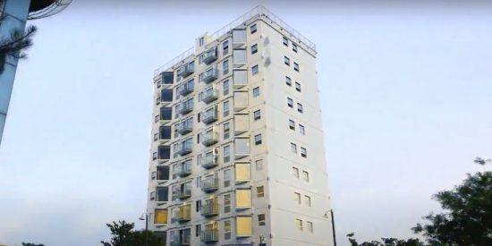 Vídeo: así construyen los chinos este edificio de 10 pisos en poco más de 28 horas