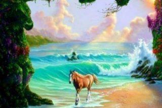 Reto Viral: encuentra los 6 caballos de la imagen en 15 segundos