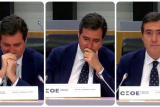 Twitter pasa factura a Garamendi (CEOE) y no se cree su lacrimógena rectificación tras apoyar los indultos