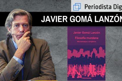 """Javier Gomá Lanzón, filósofo y escritor: """"El malestar individual convive con el progreso material y moral"""""""