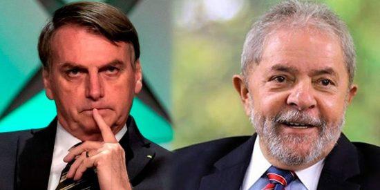 Tensión política en Brasil: Jair Bolsonaro y Lula da Silva, en empate técnico de cara a las presidenciales de 2022