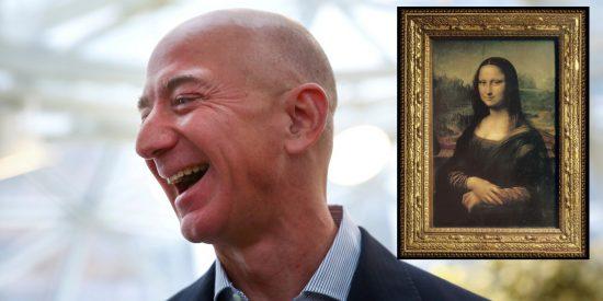 Toma impulso la petición en la Red que insta a Jeff Bezos a comprar y comerse la 'Mona Lisa'