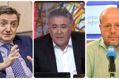 """Losantos: """"Es una obscenidad el aplauso de Ferreras y Sostres a la carta de Junqueras"""""""