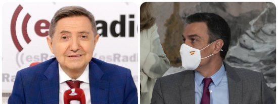 """Losantos: """"Sánchez actúa por encima de las sentencias del Supremo hasta proclamarse dictador"""""""