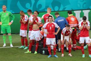 Eurocopa: Eriksen sufre una parada cardiorrespiratoria en mitad del Dinamarca-Finlandia