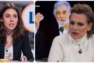 "Ainhoa Arteta borda su apoyo a Plácido Domingo con este zasca a Irene Montero: ""Esa señora me importa poco"""