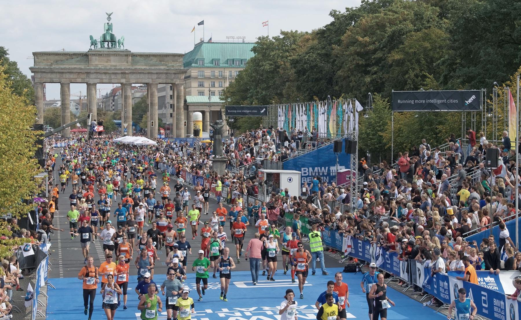 El Maratón de Berlín prevé acoger a 35.000 corredores en septiembre