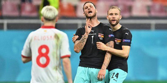 La UEFA investigará si hubo racismo en la celebración del austriaco Arnautovic