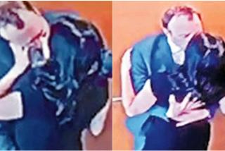 Polémica en Reino Unido: Filtran las imágenes del secretario de Salud británico besándose con su amante
