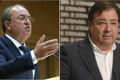 """Monago (PP) destroza a Fernández Vara: """"Dijo que se iría del PSOE si Sánchez pactaba con independentistas… Ahí tiene la puerta"""""""