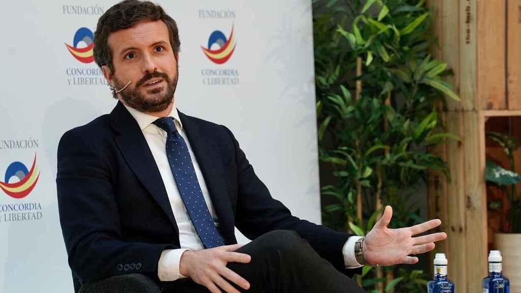 Casado se fija como objetivo seducir al 60% de socialistas que están en contra de los indultos de Sánchez