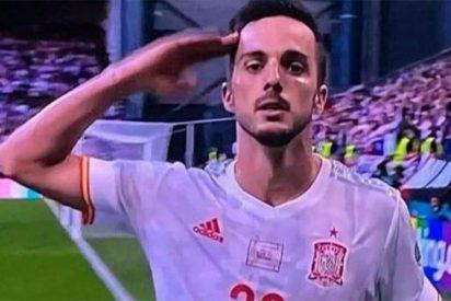 Sarabia, el nuevo ídolo: el jugador del PSG, hijo de guardia civil, dedicó su gol a la Benemérita