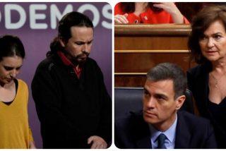 """Inda acalambra a Sánchez, Calvo, Iglesias y Montero: """"Tienen la cara más dura que los muros del Bernabéu"""""""