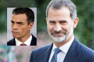 Inédito vídeo viral: el Rey Felipe 'se mofa' públicamente de los abucheos a Sánchez y noquea a Moncloa