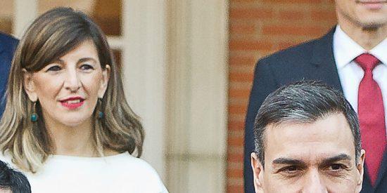 Gobierno PSOE-Podemos: Pedro Sánchez tesis fake y Yolanda Díaz máster en hipocresía