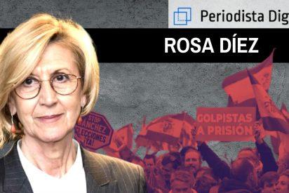 """Rosa Díez: """"Sánchez no tiene límites ni líneas rojas, tenemos que pararlo"""""""