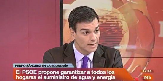 La videoteca electrocuta a Sánchez rescatando la vieja promesa de una rebaja del 13% en el recibo de la luz