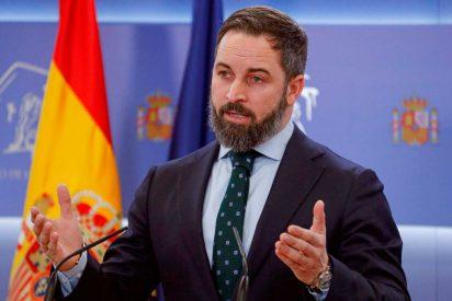 """Santiago Abascal: """"Sánchez ha dado una puñalada por la espalda a los españoles y al Rey"""""""