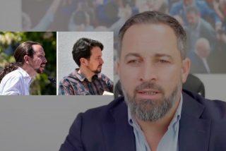 """Santiago Abascal: """"Pablo Iglesias debe asumir sus responsabilidades por el daño que ha causado en España"""""""