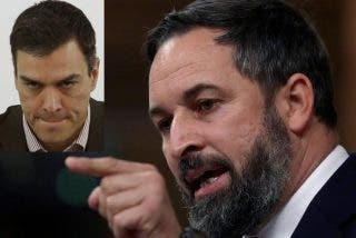 Santiago Abascal (VOX) sacude una monumental 'paliza' a Pedro Sánchez (PSOE)
