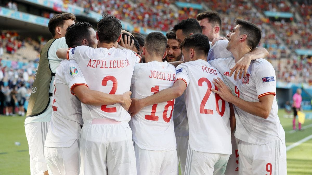 Eurocopa: España golea a Eslovaquia para citarse en octavos contra Croacia