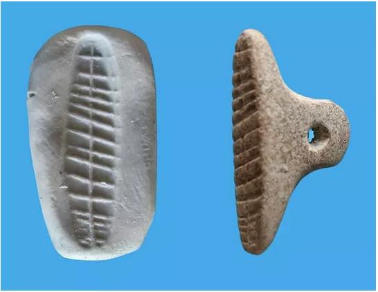 Arqueólogos encuentran sellos para marcar envíos de hace 7.000 años