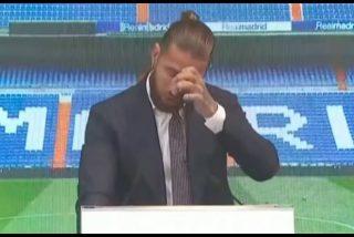 Sergio Ramos: las lágrimas del capitán 'traicionado' del Real Madrid