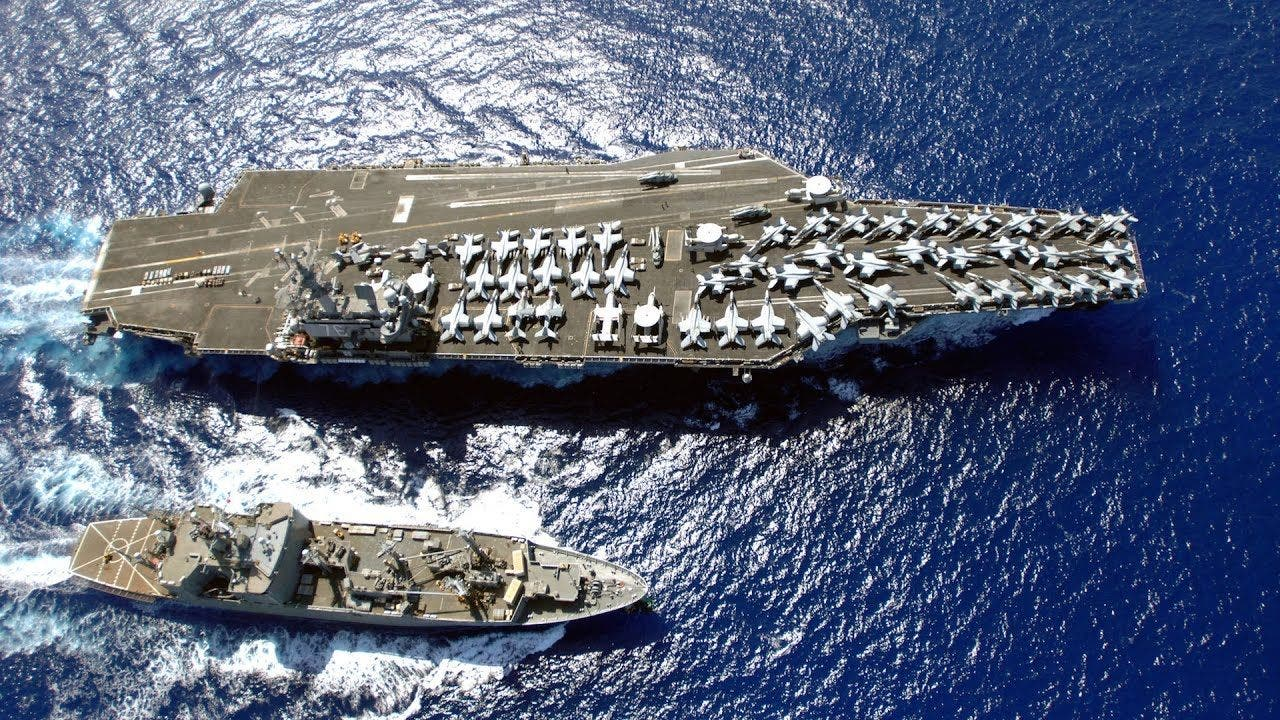 EEUU enfrenta a China y envía al portaaviones USS Ronald Reagan al mar asiático
