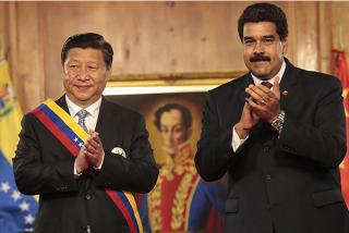 """El tirano Nicolás Maduro presume de su alianza con China: """"Estamos más unidos que nunca"""""""
