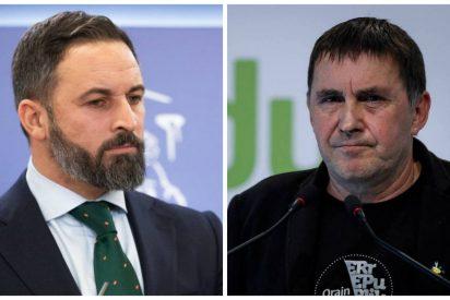 """VOX zarandea a Otegi por pedir la liberación de etarras: """"Haremos todo para que los asesinos se pudran en la cárcel"""""""