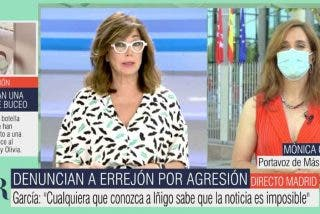 Ana Rosa da una lección a TVE, interroga a 'Pistolera' García por la agresión de Errejón y le mete un corte cuando lo niega