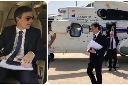 """Troleo a Sánchez por celebrar el Día Mundial del Medio Ambiente: """"Pero si coges el helicóptero para comprar el pan"""""""