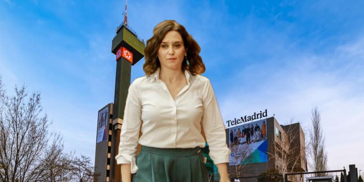 ¡Cierre al salir!: Ayuso 'despedirá' al director de Telemadrid antes de terminar julio