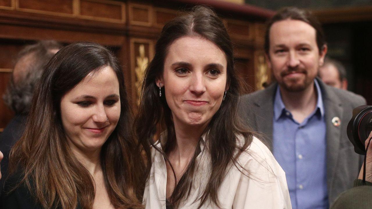 Culpa de Iglesias: Podemos, Ione Belarra e Irene Montero, a un paso de sentarse en el banquillo