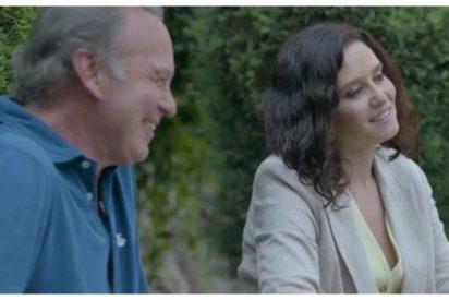 La desternillante 'película' protagonizada por Díaz Ayuso y Bertín Osborne que triunfa en redes