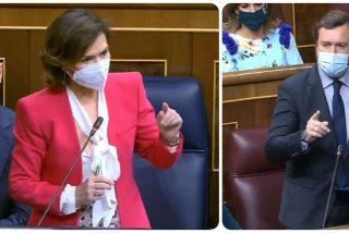 """Espinosa de los Monteros acorrala a Carmen Calvo: """"¿No le dan un atisbo de vergüenza los indultos?"""""""