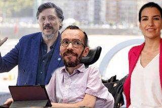 """Echenique, que tolera el racismo de Carlos Bardem, acusa a Monasterio de ser """"heredera de una familia de esclavistas"""""""