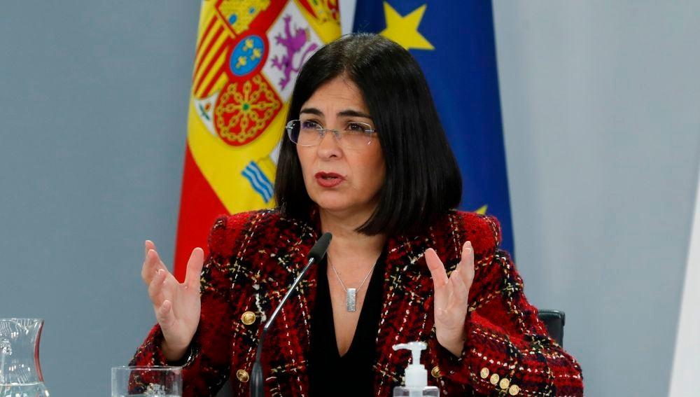 """Rebelión autonómica contra la ministra 'Dañina' Darias: """"¿Por qué no planteó esas restricciones con el estado de alarma?"""""""