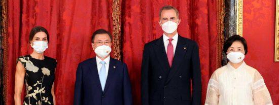 Presidente de Corea, Moon Jae-in, realizó una visita de Estado a España