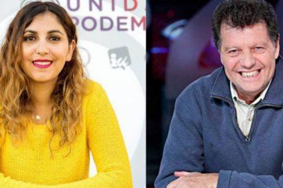 """El panfleto podemita de Dina Bousselham se refiere a Periodista Digital como """"el libelo que dirige Alfonso Rojo"""""""