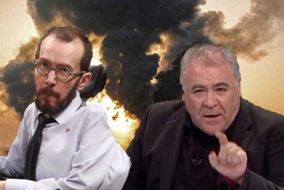 "Echenique declara la guerra a Ferreras por entrevistar a una exsenadora de Podemos: ""La llevó para verter basura falsa"""