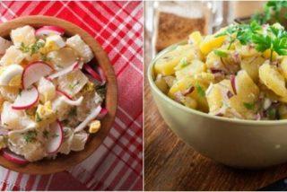 Ensalada de patatas de verano: 2 recetas fáciles