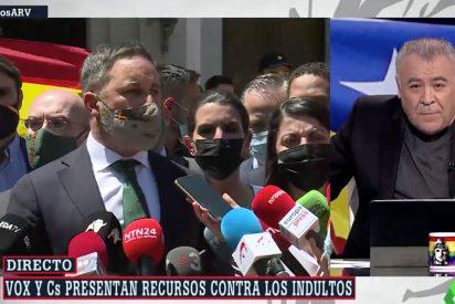 Más periodismo: Ferreras se va a publicidad y corta a Abascal tras el recurso de VOX contra los indultos