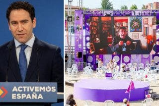 """García Egea (PP) se mofa de la pobre asistencia a la Asamblea de Podemos: """"Son 25.000, según el Gobierno"""""""
