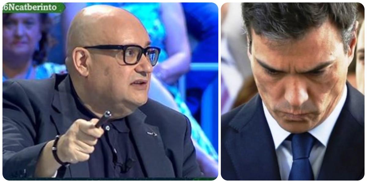 Giménez condensa en 20 palabras el desprecio de Sánchez hacia los españoles en Cataluña