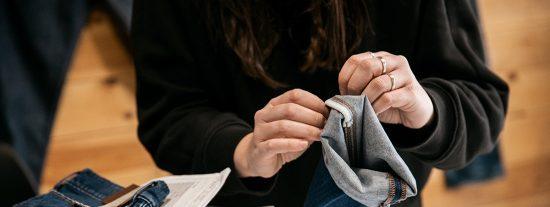 Confección de jeans