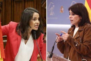 """Inés Arrimadas vapulea a Lastra por su burla a Ciudadanos: """"Prefiero perder escaños y no los principios"""""""