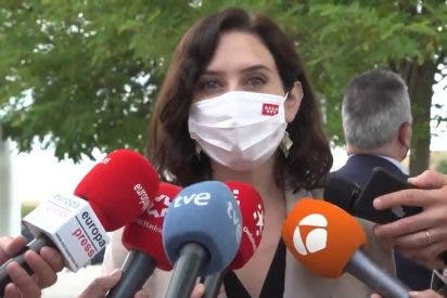 """Ayuso: """"Exigiré a Sánchez que los empresarios catalanes paguen con su dinero la juerga independentista"""""""