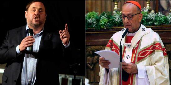 Los obispos catalanes 'comulgan' con los indultos a los golpistas del 1-O