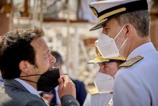 'Kichi' inclina la cabeza ante Felipe VI: de sabotear la visita del Rey a Cádiz a rogarle su mediación ante Airbus